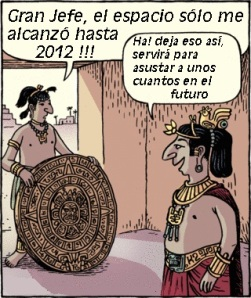 Calendario maya y el fin del mundo